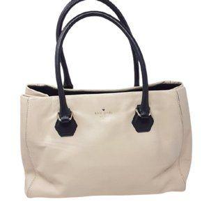 Kate Spade Tote bag Handbag Satchel Cream Leather